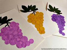 Játékos tanulás és kreativitás: Szőlő ötletek Autumn Crafts, Autumn Art, Nature Crafts, Decor Crafts, Fall Art Projects, School Art Projects, Projects To Try, Toddler Crafts, Diy And Crafts