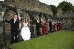 Irish wedding picture.  Great concept.
