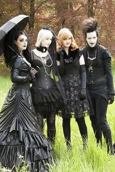 "The last person tagged this as ""GOTH/PUNK/EMO""....no, those terms are not interchangeable. It's goth. Just goth."