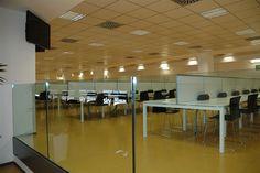 La sala stampa dello #juventustadium di Torino, durante lo study tour del @mastersbs