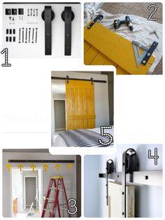 DIY puerta tipo establo