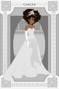 The signs of the zodiac, represented by Disney princesses: Cancer/Tiana Disney Magic, Walt Disney, Gif Disney, Disney And Dreamworks, Disney Art, Disney Pixar, Disney Characters, Disney Princesses, Disney Dolls