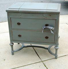 vintage painted furniture