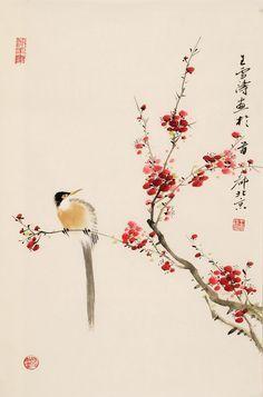 zhang daqian bird - Google Search