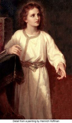 Jesus as a child Christ The King, The Cross Of Christ, Pictures Of Jesus Christ, Catholic Pictures, Bible Pictures, Jesus In The Temple, Jesus Our Savior, Finding Jesus, Jesus Resurrection