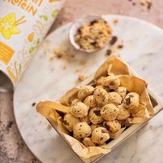 Alpha Foods Cookie Dough, Delish, Cereal, Healthy Living, Cookies, Versuch, Breakfast, Desserts, Blog