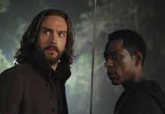 Ichabod and Frank Irving prepare for war in Sleepy Hollow. MON 9/8c on FOX!