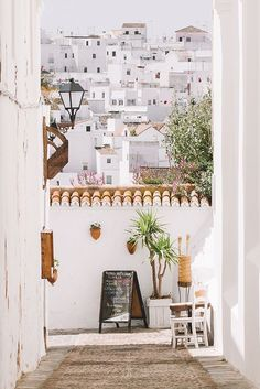 The romantic streets of Andalucía, Spain.