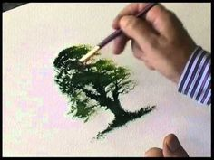 Painting trees in watercolour with Terry Harrison