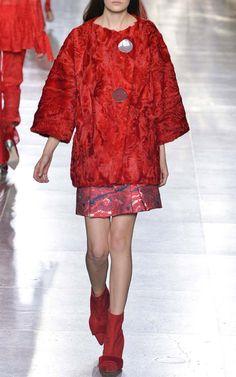 Mercury Coat by Osman for Preorder on Moda Operandi