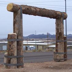 Home Exterior Ranch Entrance Ideas Farm Entrance, Driveway Entrance, Porch Gate, Fence Gate, Fencing, Front Gates, Entrance Gates, Farm Gate, Outdoor Signage
