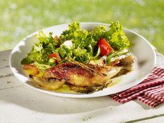 Gebratene Hähnchenkeule ist ein Rezept mit frischen Zutaten aus der Kategorie Hähnchen. Probieren Sie dieses und weitere Rezepte von EAT SMARTER!