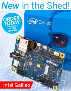 The Maker Shed has just received a limited quantity of Intel's based microcontroller, the Galileo. Designed in collaboration with the Arduino team, the Galileo is compatible with Arduino sketches and compatible shields. Electrical Grid, Electrical Engineering, Power Trailer, Doomsday Preppers, Maker Culture, Development Board, Reaching For The Stars, Arduino Projects, Natural Disasters