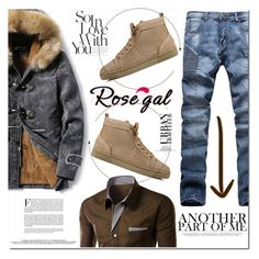 """""""Rosegal27"""" by angel-a-m on Polyvore featuring Christian Louboutin, men's fashion, menswear, MensFashion, polyvoreeditorial, polyvorefashion and rosegal"""