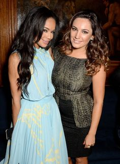 Pin for Later: This Week's Can't-Miss Celebrity Photos  Sarah-Jane Crawford and Kelly Brook feted the Sunday Times Style Christmas party.
