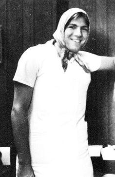 James Gandolfini high school yearbook photo halloween costume young before famous park ridge high school 1979
