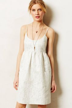 Anthropologie  Ambrose Jacquard Dress