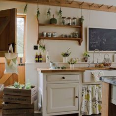 How to Create a Shaker Style Kitchen | Love Chic Living