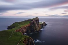 Neist Point Lighthouse at dusk. (Isle of Skye, United Kingdom, August 2013, Nikon D600) Follow us: @Smithsonian Magazine on TwitterAnnouncing Our 11th Annual Photo Contest Finalists | Photo Contest | Smithsonian