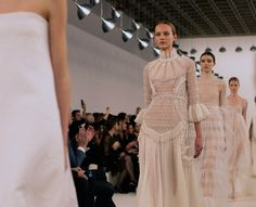 Top Fashion Moments From The Valentino New York Couture Show