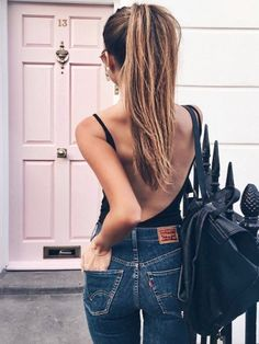 40 Of The Best Summer Outfits To Copy Right Now 30 Chic Summer Outfit Ideas – Street Style Look. The Best of summer outfits in Looks Style, Style Me, Look Fashion, Fashion Beauty, Net Fashion, Denim Fashion, Mode Lookbook, Summer Outfits, Casual Outfits
