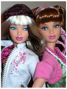 Barbie & friend ~ I have the one on the right, still in her box.