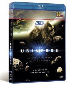 The Universe 3D Blu-Ray