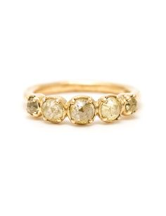 Suzi Zutic's 'Indus Sunset' ring is a golden garland of icy lemon diamonds set in yellow gold. Buy online or make an appointment to customise this ring. Candy Jewelry, Jewelry Crafts, Handmade Jewelry, Engagement Rings Melbourne, Princess Cut Diamonds, Contemporary Jewellery, Yellow Gold Rings, Lemon, Wedding Rings