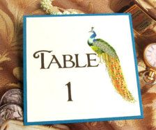 Wedding Table Numbers - Wedding Decorations - Page 58