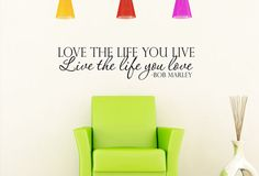 Hey, I found this really awesome Etsy listing at http://www.etsy.com/listing/128562547/love-the-life-you-live-bob-marley-art