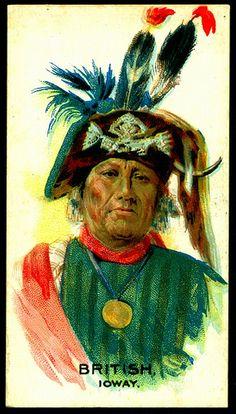 Cigarette Card - Indian Chief, British