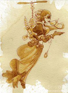 Steampunk Art - Brian Kesinger