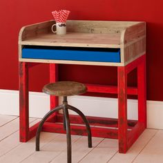 BENJAMIN desk at XO-in My room - love everything in this shop.