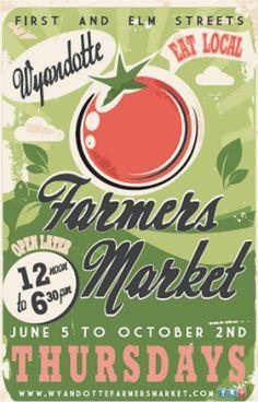 vintage historic farmers market signs | Farmers Market Poster Farmers market poster