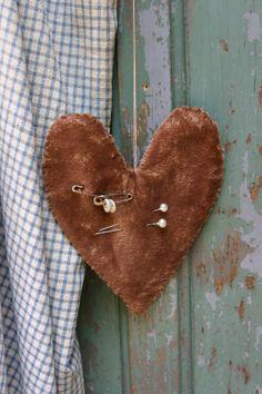 A sweet little velvet heart