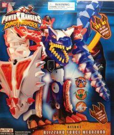 Amazon.com : Power Rangers Deluxe Blizzard Force Megazord Action Figure : Collectible Action Figures : Toys & Games