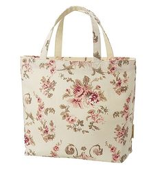 Shabby Chic Floral Tote