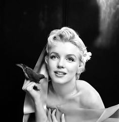 Marilyn Monroe by Sir Cecil Beaton, portrait taken on February 22nd, 1956 at The Ambassador Hotel, New York.
