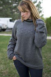 Ravelry: Smokey Graphite Crewneck pattern by Marly Bird