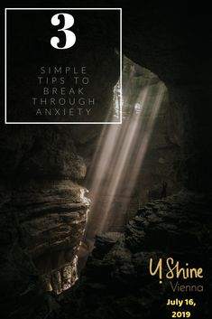 Do you have a hard time breaking through times of anxiety? Here are 3 simple tips on how to break through anxiety! Hard Times, Vienna, Anxiety, Simple, Tips, Tough Times, Stress, Counseling