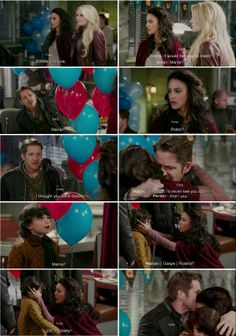 I'm sad because of Regina and Outlaw Queen... But, I can't deny it, I'm a little bit happy because of Roland.  He has his mother back! He's not orphan anymore! Don't hate me, but I can't be just a little bit happy... Perfect would be if Robin and Marian start hating each other, but  they both take care of Roland. And Robin should be with Regina!