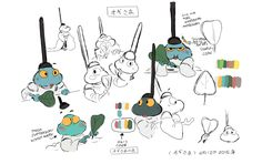 yonhuilee:  I thought it'd be cool to share some pre-production work that I did when I was working on my film, 'Dodoba'. Most of these sketches and development drawings were made over the course of 3-4months while I was working on the story while some of them were made during production!Here's the link to the film if you haven't seen it yet!https://vimeo.com/126775227-Yon