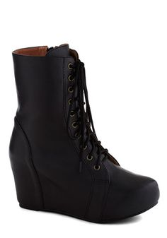 The Last Strawberry Boot in Black {I wish so badly that these didn't have a leather lining. My little vegan heart is broken!}
