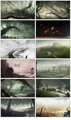 December Speedpaints by bradwright.deviantart.com on @DeviantArt