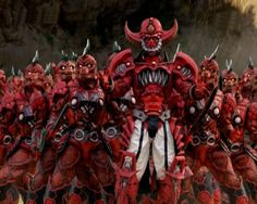Big Robots, Lizards, Power Rangers, Godzilla, Lava, Minions, Monsters, Creatures, Hero