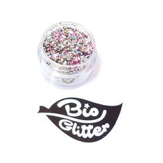 BIODEGRADABLE GLITTER is here! Most glitters are based on either PET or PVC plastics = Microplastics. Our glitter is based on a biodegradable film that is certi