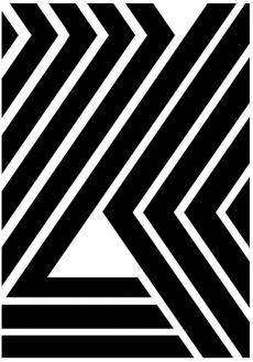 WILD STRIPES Artprint by RK Design