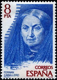 España 1979 - Fernán Caballero era el pseudónimo utilizado por la escritora española Cecilia Böhl de Faber y Larrea