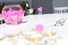 Who's up for a game of bebe champagne pong?