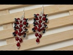 Bead Jewelry Making Video on How to Make Beaded Drop Earrings - YouTube